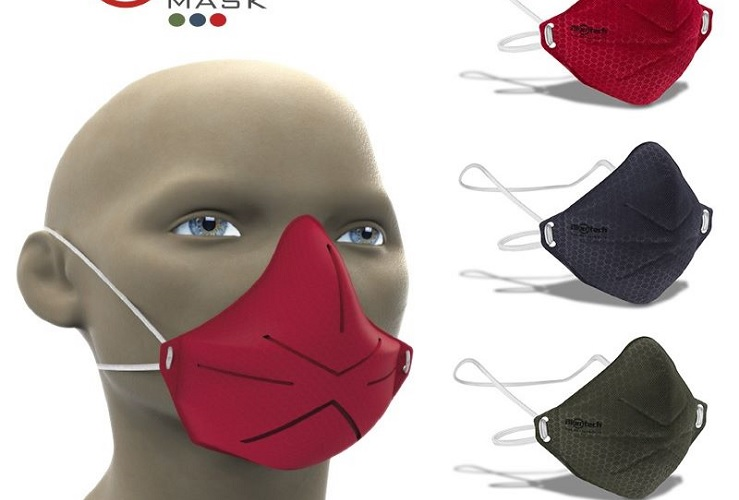 Mascarilla moldeable: Biontech mask