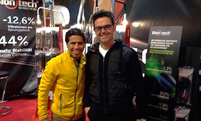 Germán Wrong Way Silva, con Biontech