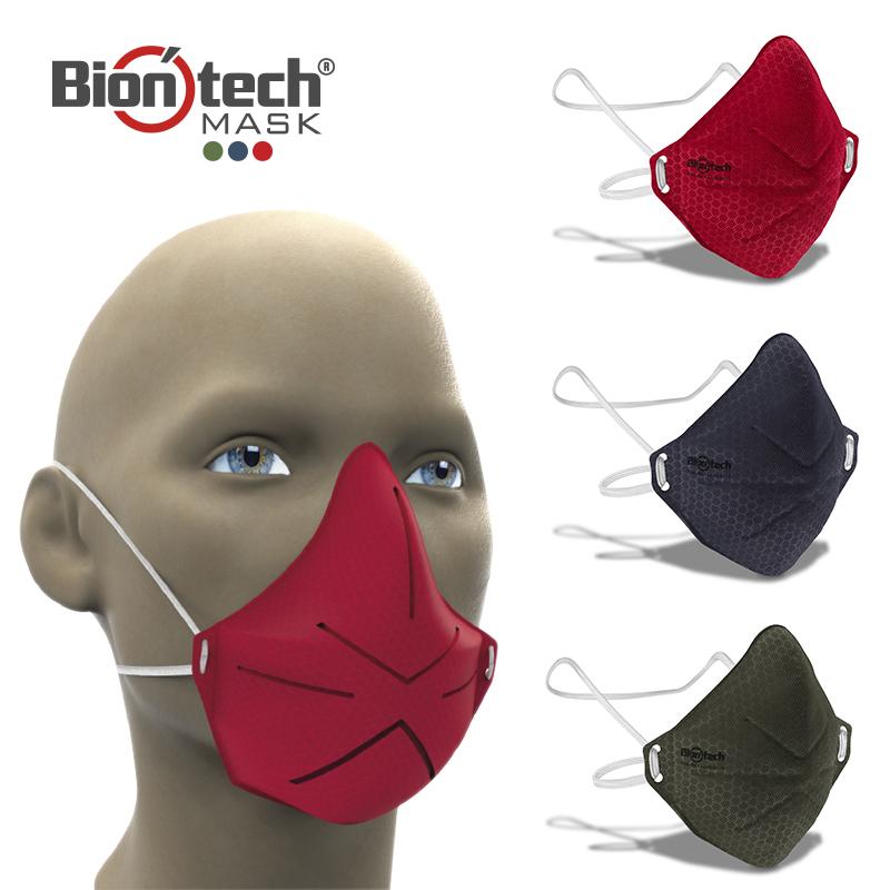 Mascarillas moldeada y ajustable Biontech